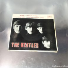Discos de vinilo: THE BEATLES---I SAW HER STANDING THERE & ANA & MISERY & P.S.I LOVE YOU ***COL ***. Lote 191913422
