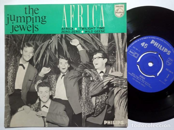 Discos de vinilo: THE JUMPING JEWELS - africa - EP HOLANDES 1963 - PHILIPS - Foto 1 - 191916522