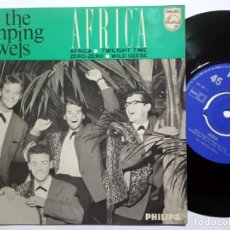 Discos de vinilo: THE JUMPING JEWELS - AFRICA - EP HOLANDES 1963 - PHILIPS. Lote 191916522