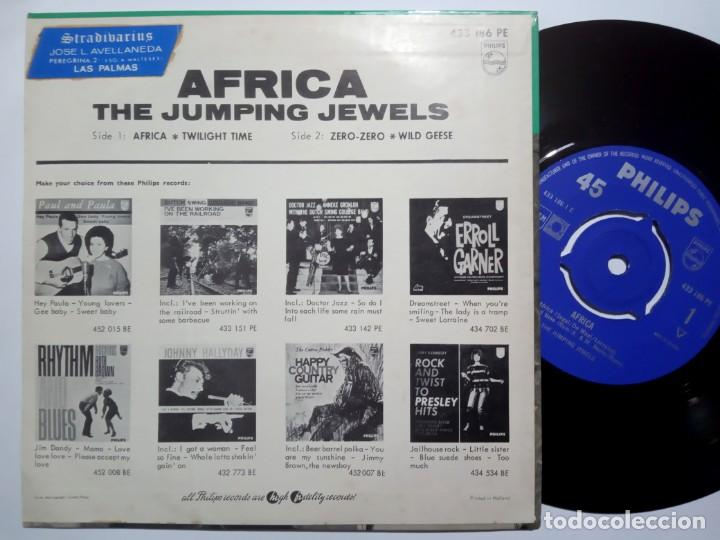 Discos de vinilo: THE JUMPING JEWELS - africa - EP HOLANDES 1963 - PHILIPS - Foto 2 - 191916522