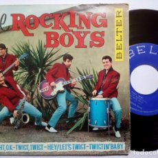 Discos de vinilo: THE ROCKING BOYS - TWIST TWIST - EP 1962 - BELTER. Lote 191918903