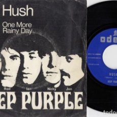 Discos de vinilo: DEEP PURPLE - HUSH - SINGLE ESPAÑOL DE VINILO #. Lote 191922481