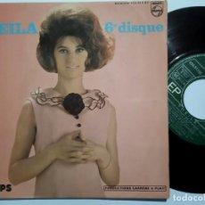 Discos de vinilo: SHEILA - CHAQUE INSTANT DE CHAQUE JOUR - EP FRANCES 1964 - PHILIPS. Lote 191923101