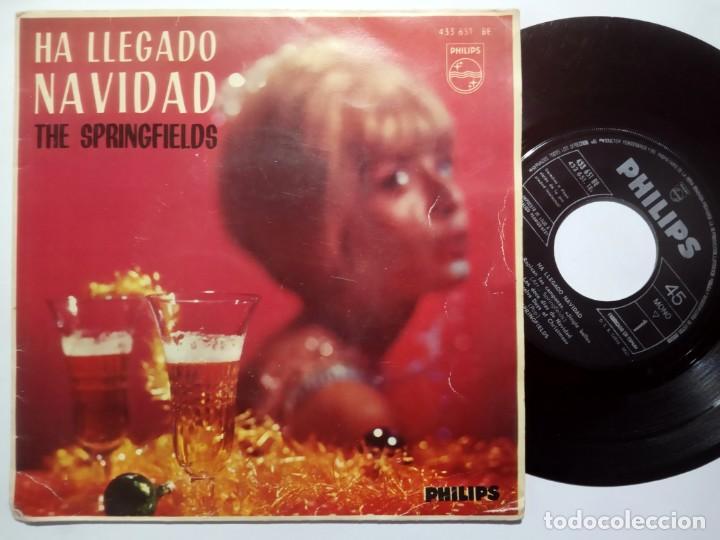 THE SPRINGFIELDS - HA LLEGADO LA NAVIDAD - EP 1963 - PHILIPS (Música - Discos de Vinilo - EPs - Pop - Rock Extranjero de los 50 y 60)