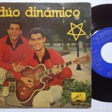 Discos de vinilo: DUO DINAMICO - ALONE - EP 1959 - LA VOZ DE SU AMO. Lote 191924958