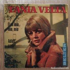 Discos de vinilo: TANIA VELIA - 1969 - ÉL ES MIO, MIO, MIO. Lote 191932197