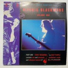 Discos de vinilo: DOBLE LP GATEFOLD RITCHIE BLACKMORE – CONNOISSEUR ROCK PROFILE COLLECTION VOLUME ONE EDICION UK. Lote 191932398