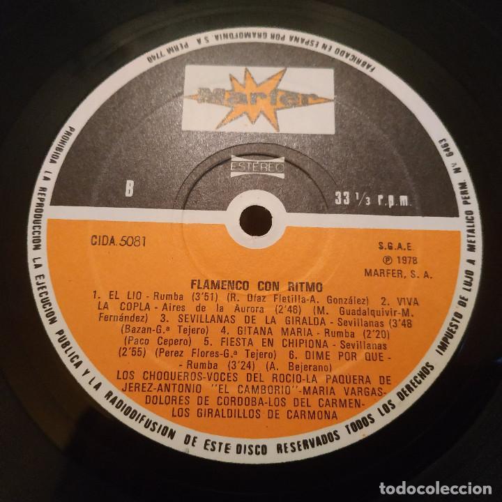 Discos de vinilo: FLAMENCO CON RITMO - FANTASTICO DOBLE LP PORTADA GATEFOLD EN EXCELENTE ESTADO VER LAS FOTOS - Foto 9 - 191936275