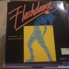 Discos de vinilo: FLASHDANCE: WHAT A FEELING. Lote 191940063
