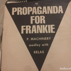 Discos de vinilo: PROPAGANDA FOR FRANKIE. Lote 191941496