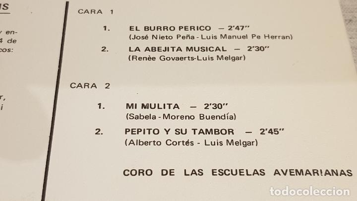 Discos de vinilo: CANCIONES INFANTILES / SINGLE - PRODUCTOS MG / DISCO REGALO / MUY BUENA CALIDAD.***/*** - Foto 3 - 191952746
