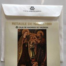 Discos de vinilo: RETAULE DE NADAL 1980. ORFEÓN NAVARRO REVERTER. CAJA DE AHORROS DE VALENCIA.. Lote 191955841