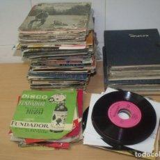 Discos de vinilo: GRAN LOTE 150 SINGLES VINILOS + DISCOS FUNDADOR, AÑOS 60-70, TODOS LOS ESTILOS. Lote 191965257