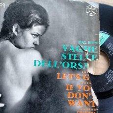 Discos de vinilo: E P ( VINILO) DE LE TIGRI / RICCARDO ROLLI. Lote 191966067