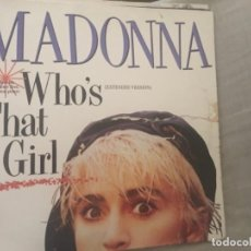 Discos de vinilo: MADONNA: WHO'S THAT GIRL. Lote 207057645