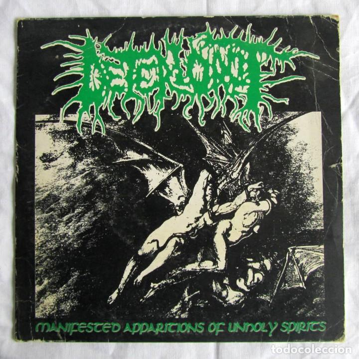 SINGLE VINILO DETERIOROT MANIFESTED APPARITIONS OF UNHOLY SPIRITS 1993 (Música - Discos - Singles Vinilo - Heavy - Metal)