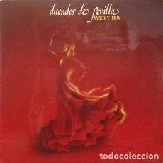 Discos de vinilo: DUENDES DE SEVILLA_–AYER Y HOY. Lote 191977312
