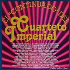 Discos de vinilo: CUARTETO IMPERIAL_–EL CONTINUADO DEL CUARTETO IMPERIAL. Lote 191977322