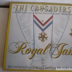 Discos de vinilo: THE CRUSADERS WITH B. B. KING* AND THE ROYAL PHILHARMONIC ORCHESTRA _–ROYAL JAM (RECORDED LIVE AT TH. Lote 191977345