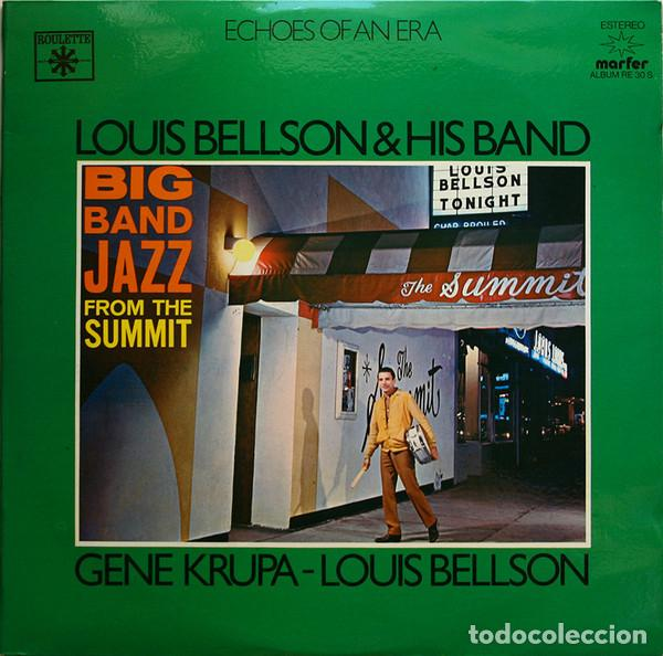 Discos de vinilo: Louis Bellson & His Band / Gene Krupa - Louis Bellson _– Big Band Jazz From The Summit / The Mighty - Foto 1 - 191977507