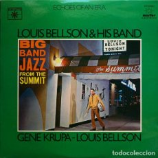 Discos de vinilo: LOUIS BELLSON & HIS BAND / GENE KRUPA - LOUIS BELLSON _– BIG BAND JAZZ FROM THE SUMMIT / THE MIGHTY . Lote 191977507