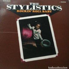 Discos de vinilo: THE STYLISTICS_–ROCKIN' ROLL BABY. Lote 191977520