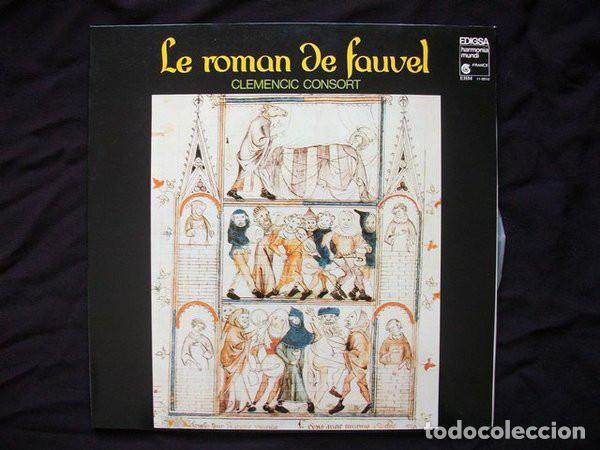 CLEMENCIC CONSORT_–LE ROMAN DE FAUVEL (Música - Discos de Vinilo - Maxi Singles - Clásica, Ópera, Zarzuela y Marchas)