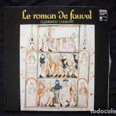 Discos de vinilo: CLEMENCIC CONSORT_–LE ROMAN DE FAUVEL. Lote 191977660