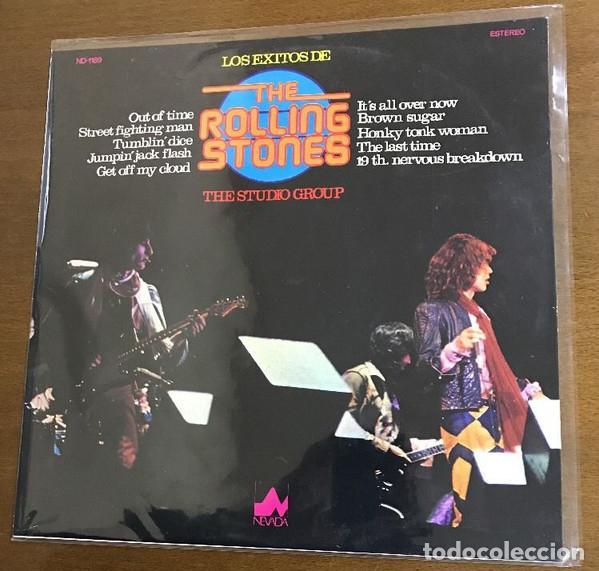 THE STUDIO GROUP_?LOS EXITOS DE THE ROLLING STONES (Música - Discos de Vinilo - Maxi Singles - Rock & Roll)