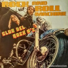 Discos de vinilo: ROCK AND ROLL MACHINE _– CLUB DEL ROCK NO. 2. Lote 191977700