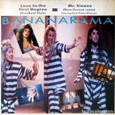 Discos de vinilo: BANANARAMA_–LOVE IN THE FIRST DEGREE. Lote 191977717