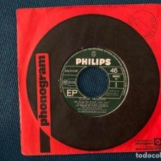 Discos de vinilo: CLAUDE FRANÇOIS – J'Y PENSE ET PUIS J'OUBLIE LABEL: PHILIPS – 434 912 BE FORMAT: VINYL, 7 45 RPM. Lote 191980142