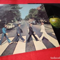 Discos de vinilo: THE BEATLES ABBEY ROAD LP 1969 APPLE PMCQ 31520 EDICION ITALIANA ITALY. Lote 191988921