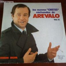 Disques de vinyle: AREVALO - VOL.4 - LOS NUEVOS CHISTES CACHONDO - LP -. Lote 191989752