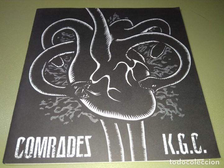 COMRADES / K.G.C. SPLIT GRIND PUNK (Música - Discos de Vinilo - EPs - Punk - Hard Core)