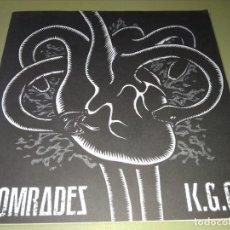 Discos de vinilo: COMRADES / K.G.C. SPLIT GRIND PUNK. Lote 191991516