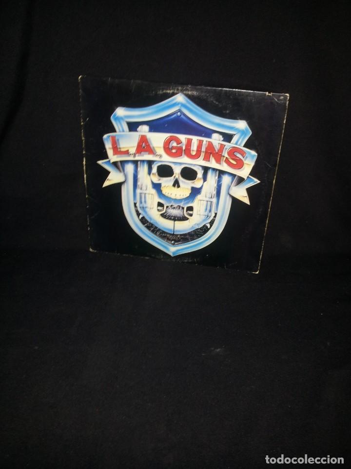 L.A.GUNS - L.A.GUNS - LP ALBUM PROMO - VERTIGO 1988 (Música - Discos - LP Vinilo - Heavy - Metal)