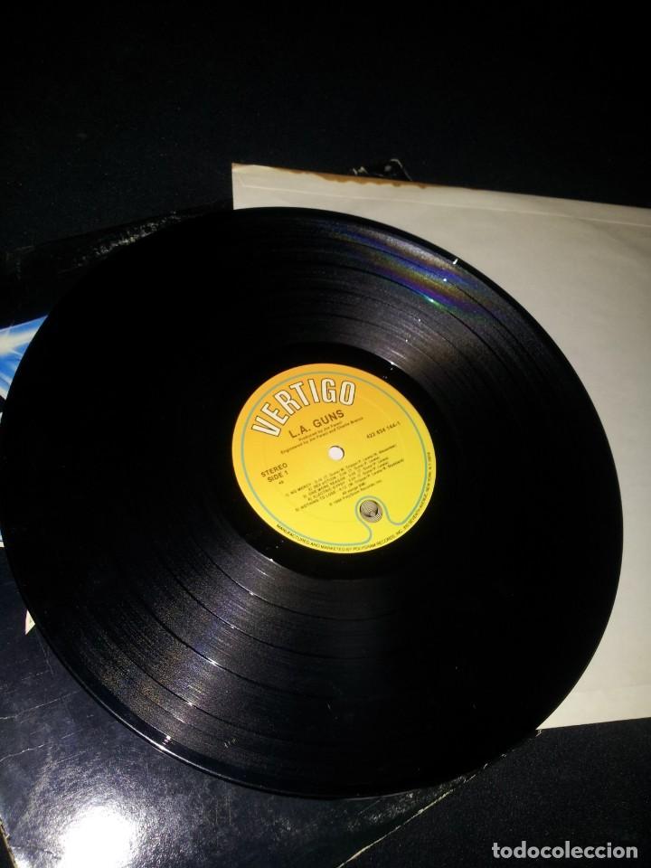 Discos de vinilo: L.A.GUNS - L.A.GUNS - LP ALBUM PROMO - VERTIGO 1988 - Foto 3 - 191991880