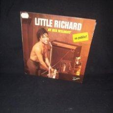 Discos de vinilo: LITTLE RICHARD - AT HIS WILDEST (EN PUBLIC) - LES DISQUES MOTORS 1974. Lote 191993311