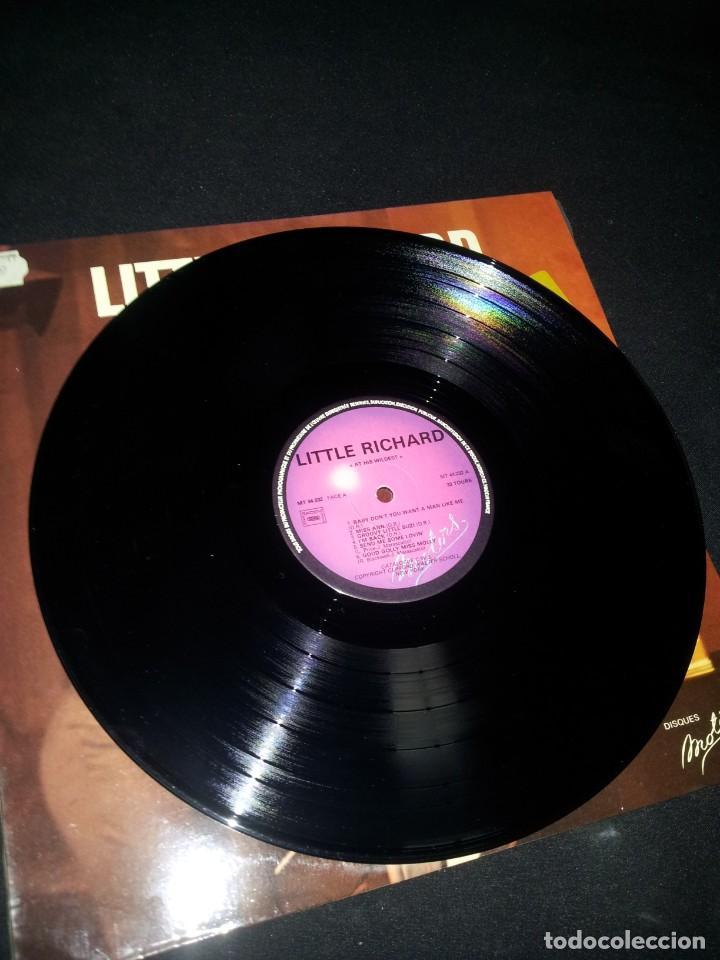Discos de vinilo: LITTLE RICHARD - AT HIS WILDEST (EN PUBLIC) - LES DISQUES MOTORS 1974 - Foto 3 - 191993311