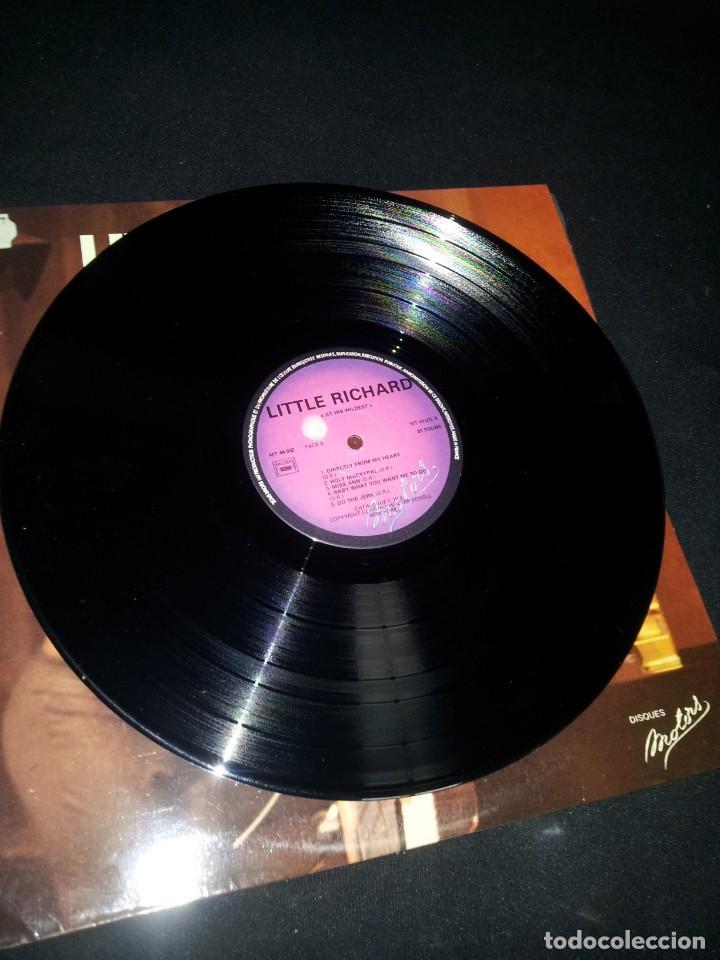 Discos de vinilo: LITTLE RICHARD - AT HIS WILDEST (EN PUBLIC) - LES DISQUES MOTORS 1974 - Foto 4 - 191993311