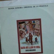 Discos de vinilo: ENNIO MORRICONE - HASTA QUE LLEGÓ SU HORA. Lote 191999902