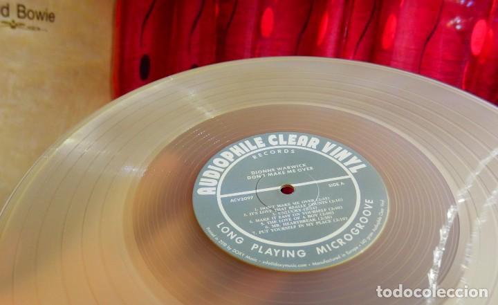 Discos de vinilo: Dionne Warwick LP AUDIOPHILE CLEAR VINYL * Dont Make Me Over * Precintado! * 500 copias numeradas - Foto 2 - 251923675
