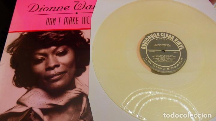 Discos de vinilo: Dionne Warwick LP AUDIOPHILE CLEAR VINYL * Dont Make Me Over * Precintado! * 500 copias numeradas - Foto 3 - 251923675