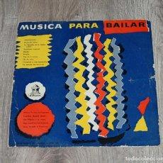 Discos de vinilo: LP MUSICA PARA BAILAR - AÑOS 60. Lote 192004052