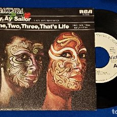 Discos de vinilo: BACCARA - AY, AY, SAILOR / ONE,TWO,THREE,THAT´S LIFE - PROMOCIONAL. RCA. AÑO 1.979. Lote 192014497