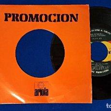 Discos de vinilo: ERUPTION - ONE WAY TICKET / LEFT ME IN THE RAIN. PROMOCIONAL. AÑO 1.978. ARIOLA. Lote 192015270