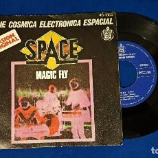 Discos de vinilo: SPACE - MAGIC FLY / BALLAD FOR SPACE LOVERS . EDITADO POR HISPAVOX . AÑO 1.977. Lote 192016345