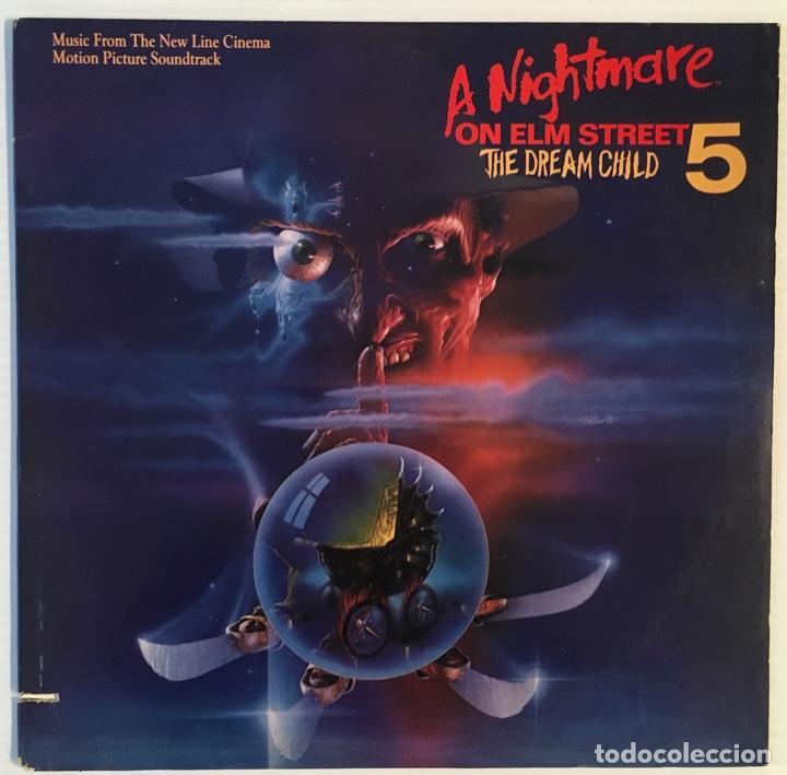 A NIGHTMARE ON ELM STREET 5. 1988. (Música - Discos de Vinilo - Maxi Singles - Bandas Sonoras y Actores)