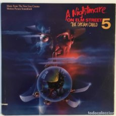 Discos de vinilo: A NIGHTMARE ON ELM STREET 5. 1988. . Lote 192026162